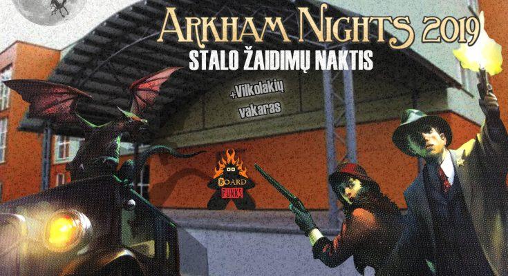 Naktis Arkhame 2019