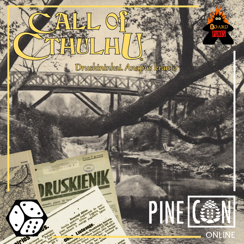 Call of Cthulhu - Druskininkai. Anapus kranto